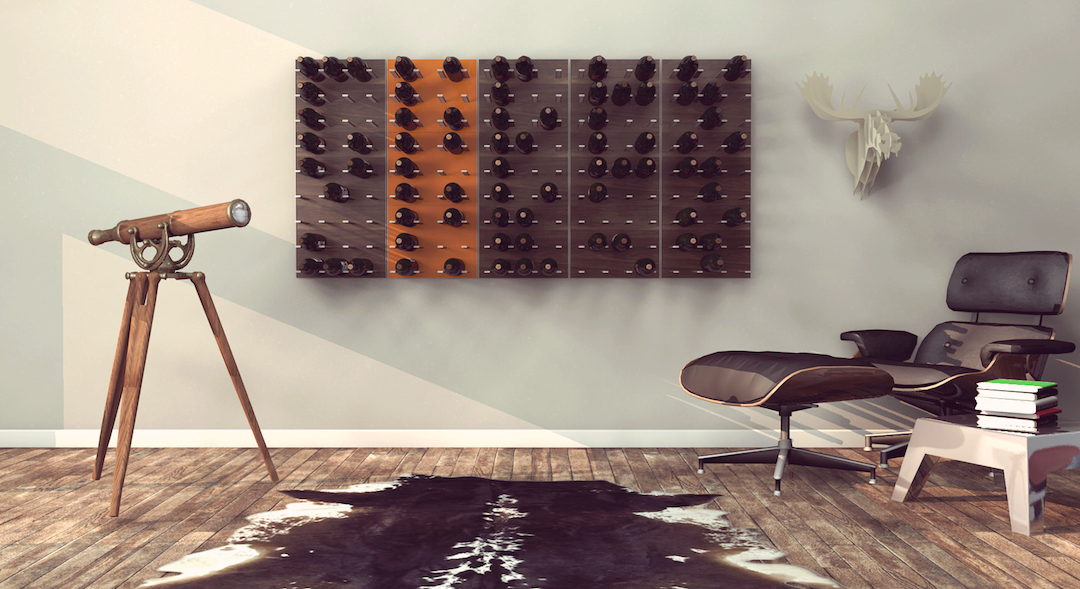 man cave wine racks