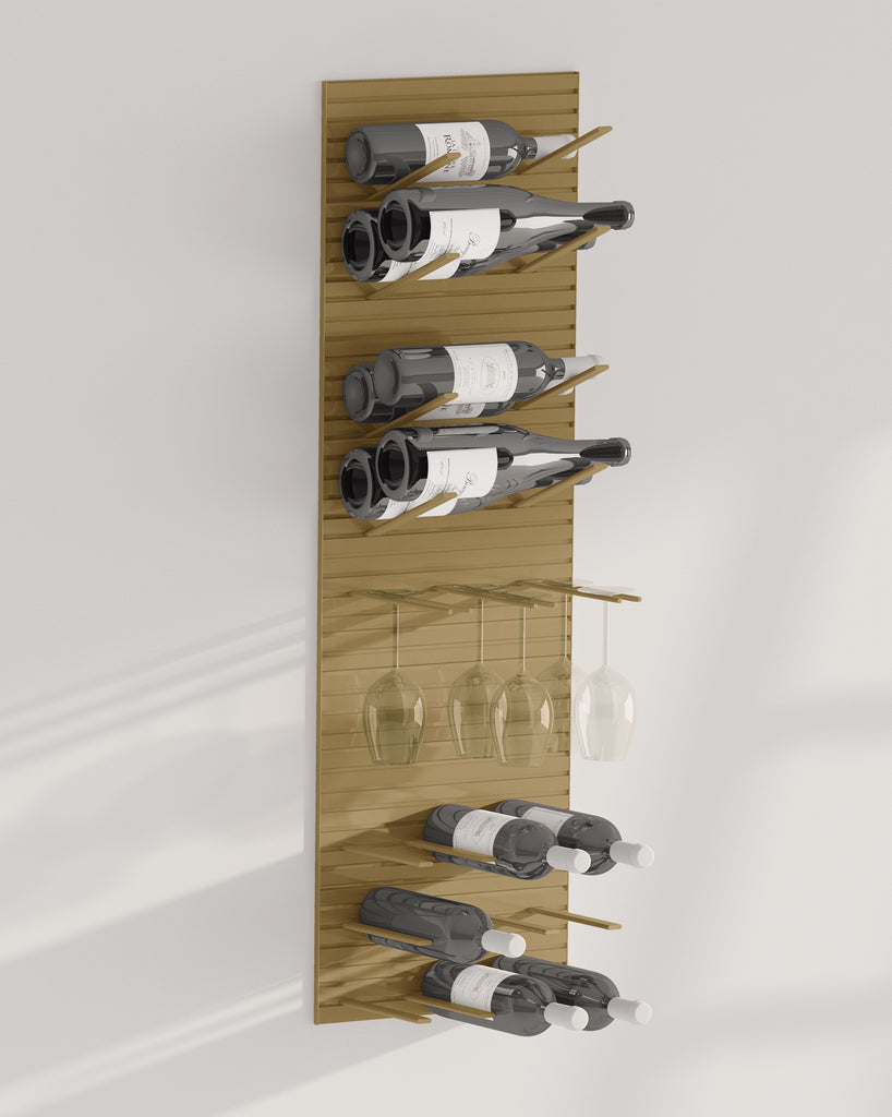 cork-out wine racks - STACT Pro - bronze