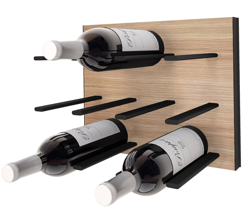STACT Premier C-type Wine Rack - Oak & Black
