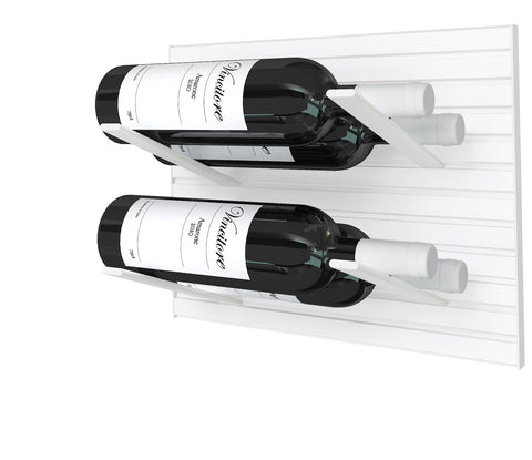 whiteout - label-out wine rack