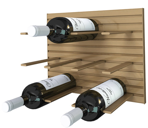 bronze - cork out wine rack