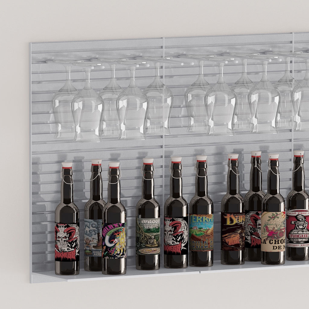 beer shelf