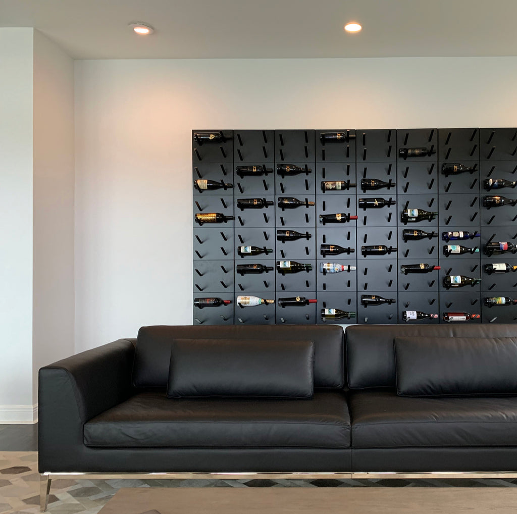 STACT Premier L-type Wine Rack - BlackOut