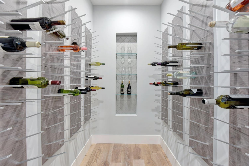 contemporary wine room ideas