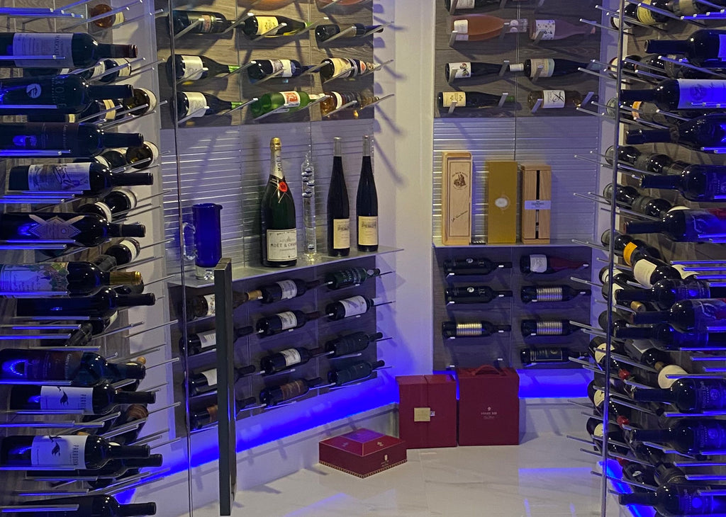 custom wine room design