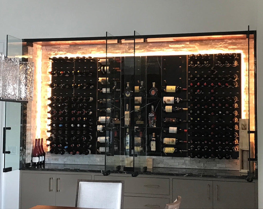 luxury wine racks