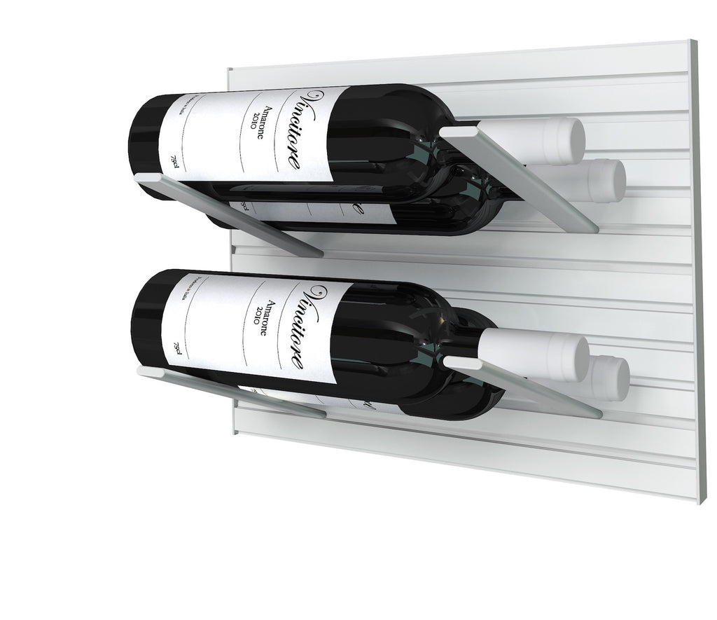 Stact Pro L Type Wine Rack Silver Stact Wine Racks