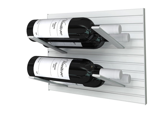 STACT Pro L-type Wine Rack - Silver