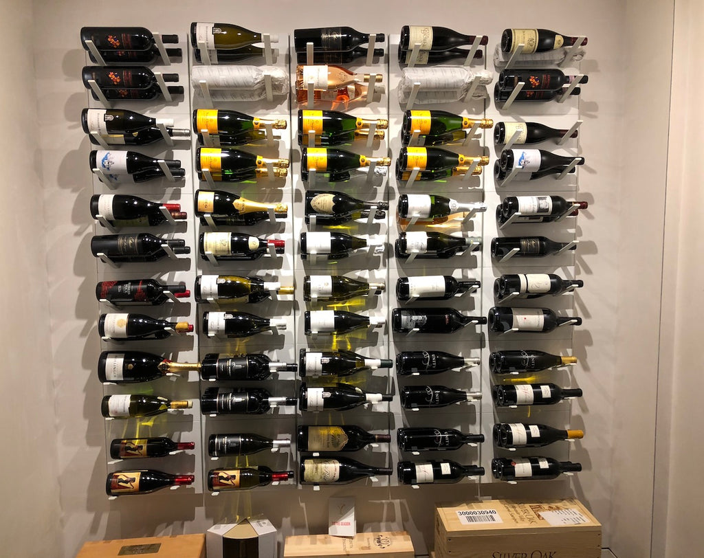 Wine Racks For Home: Stylish Label-out Wine Racks, STACT