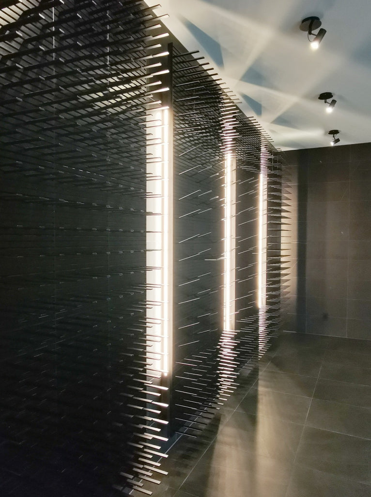 large wine room modern design
