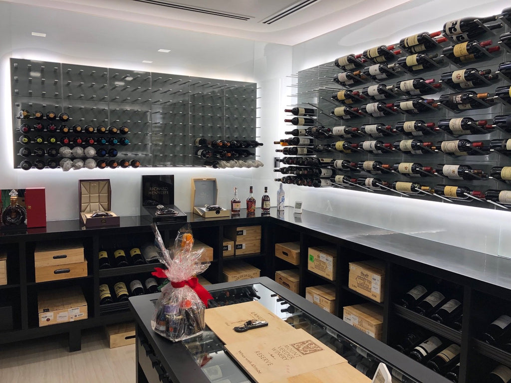 luxury wine room