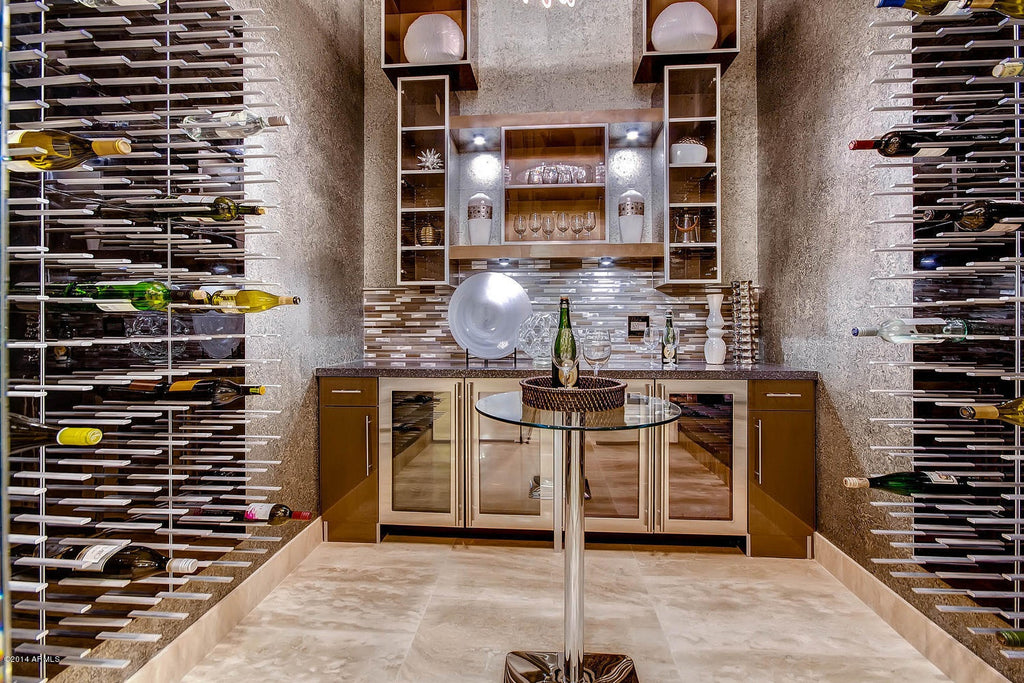 luxury wine cellar