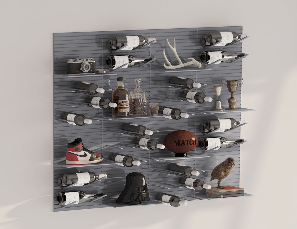 man cave decor display racks