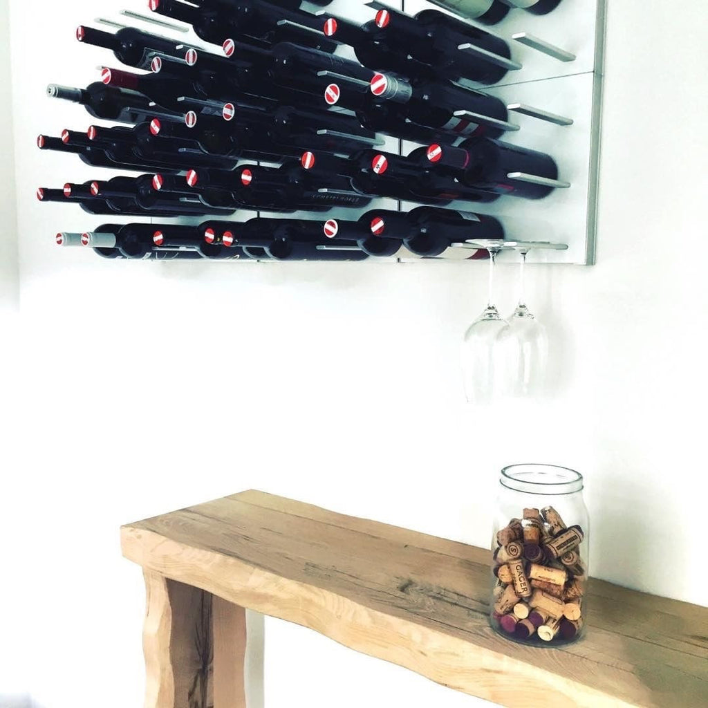 STACT Premier C-type Wine Rack - Pure White