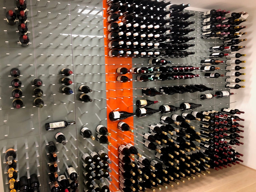 modern wine cellar design - chicago