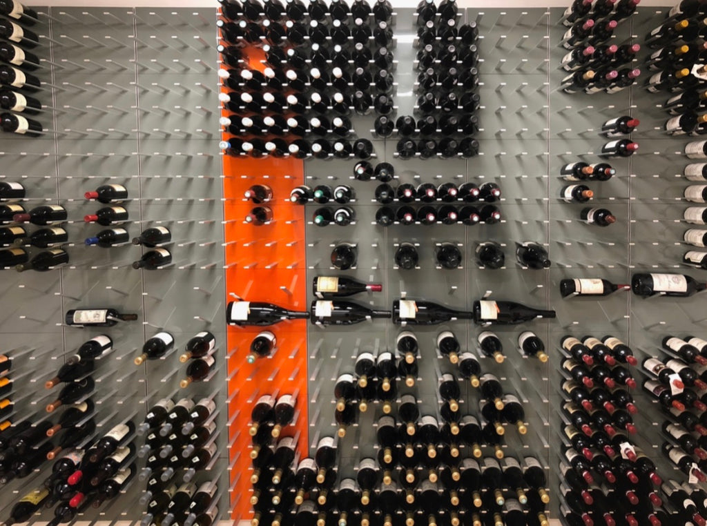 wine peg wall storage