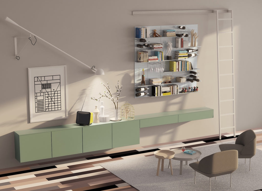 versatile modular shelving system for modern homes