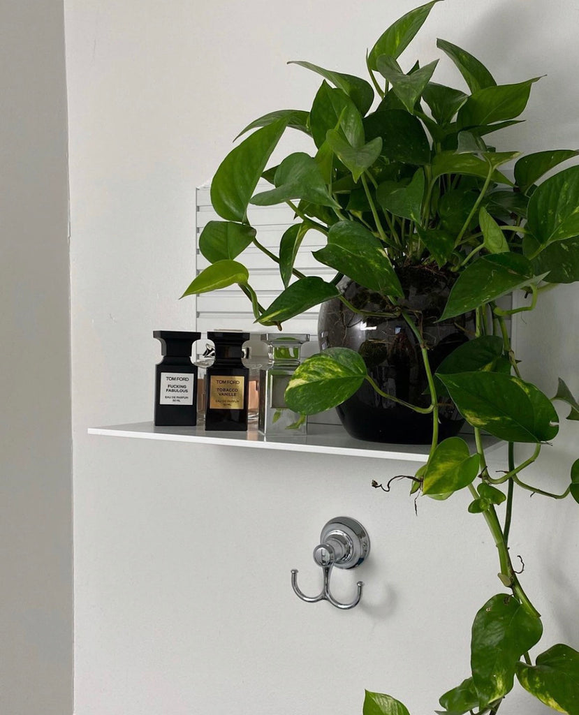 modern wall shelf system