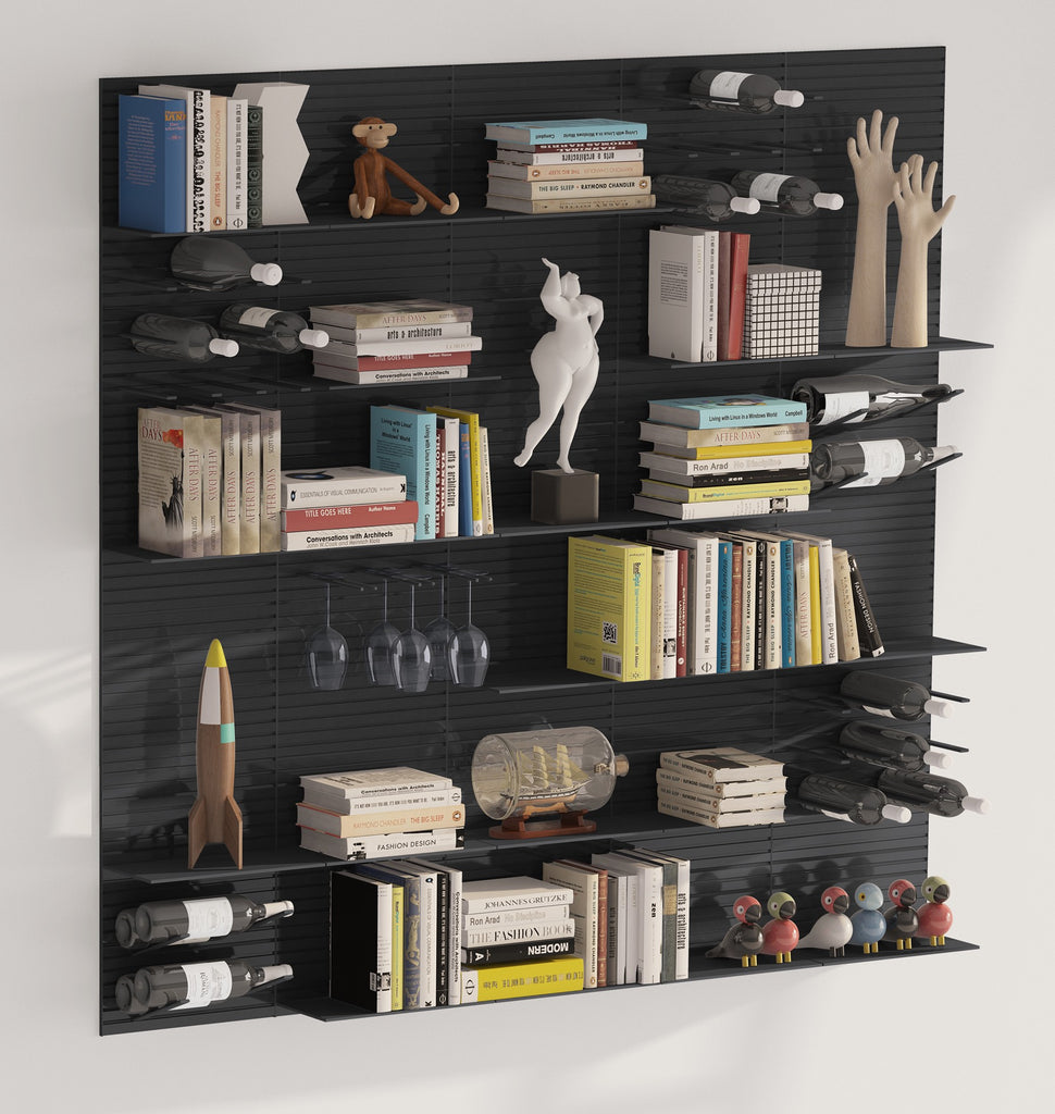 cool home wall storage solutions