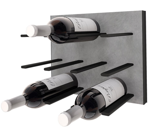 STACT Premier C-type Wine Rack - Concrete & Black