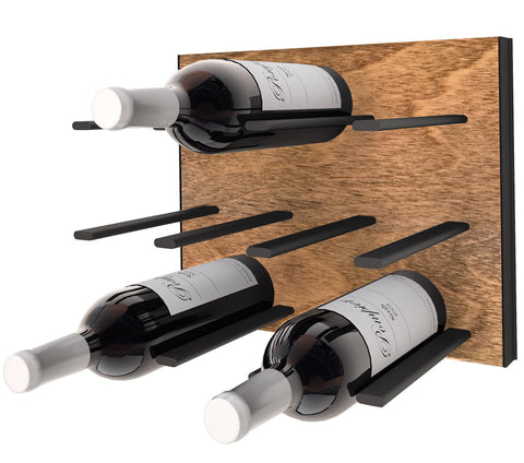 STACT C-type Wine Rack - Black & Tan