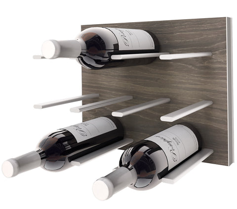 wine rack - gray oak c-type