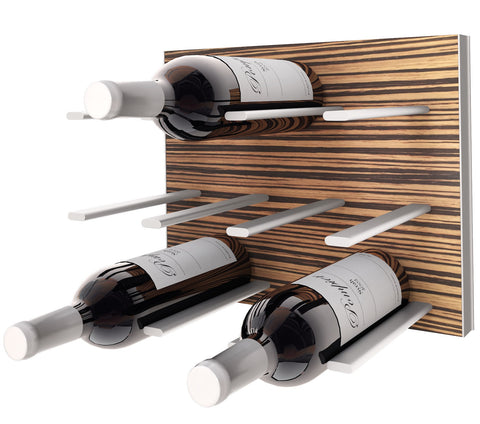 wine rack - zebrawood c-type