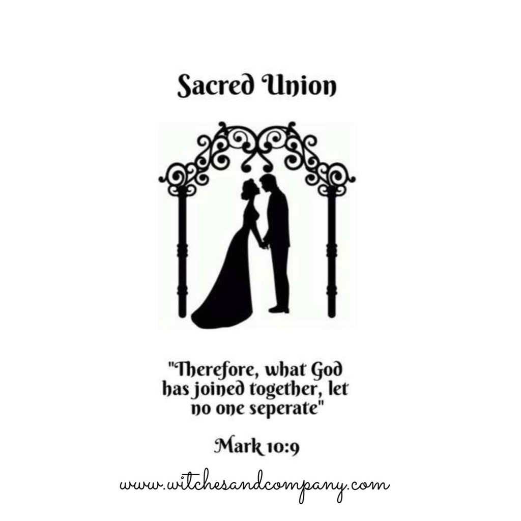 Pre Order* Sacred Union Dressed Candle
