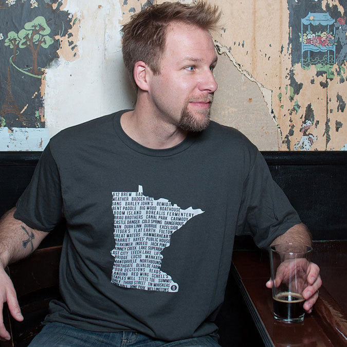 "Minnesota ""State of Beer"" T-Shirt"