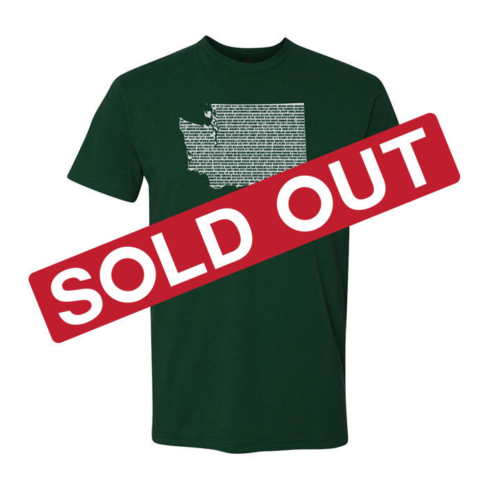 "Washington ""State of Beer"" T-Shirt"