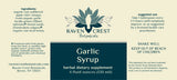 Garlic Syrup