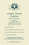 Lung & Throat <br> Comfort Tea