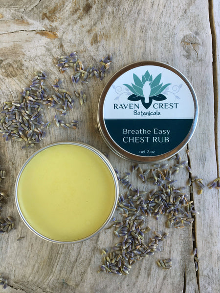 Breathe Easy <br> Chest Rub