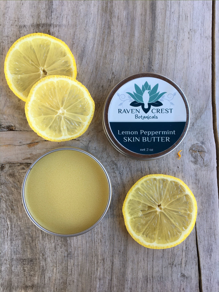 Lemon Peppermint Skin Butter