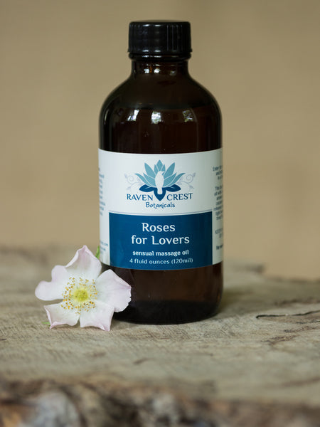 Roses for Lovers Massage Oil