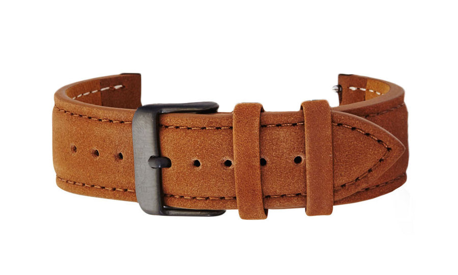 Brown Suede Strap