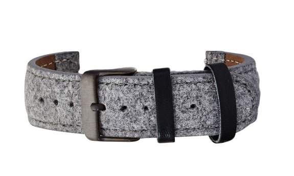 Grey Tweed Strap