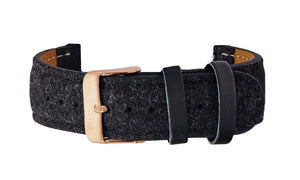 Black Tweed Strap