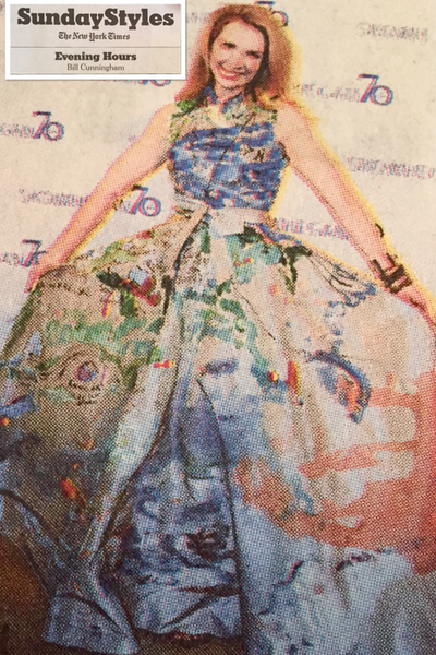 Bill Cunningham, Styles Section, The New York Times, May 1, 2016