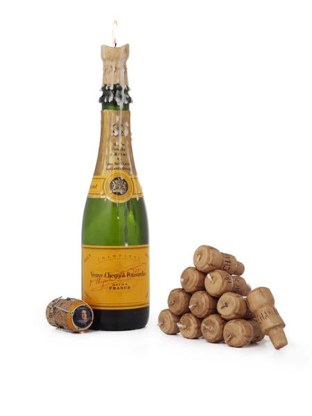 Light Your Cork (or What to do with that/those empty Champagne Bottle/s)