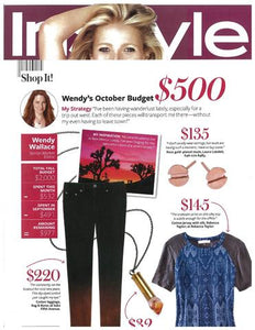 INSTYLE Magazine October, 2012