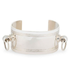 front view of Champagne Bucket Cuff by Laura Lobdell