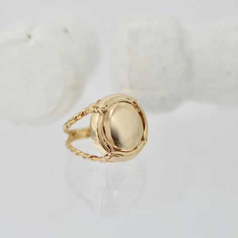 'Ti Champers Ring 14k Gold