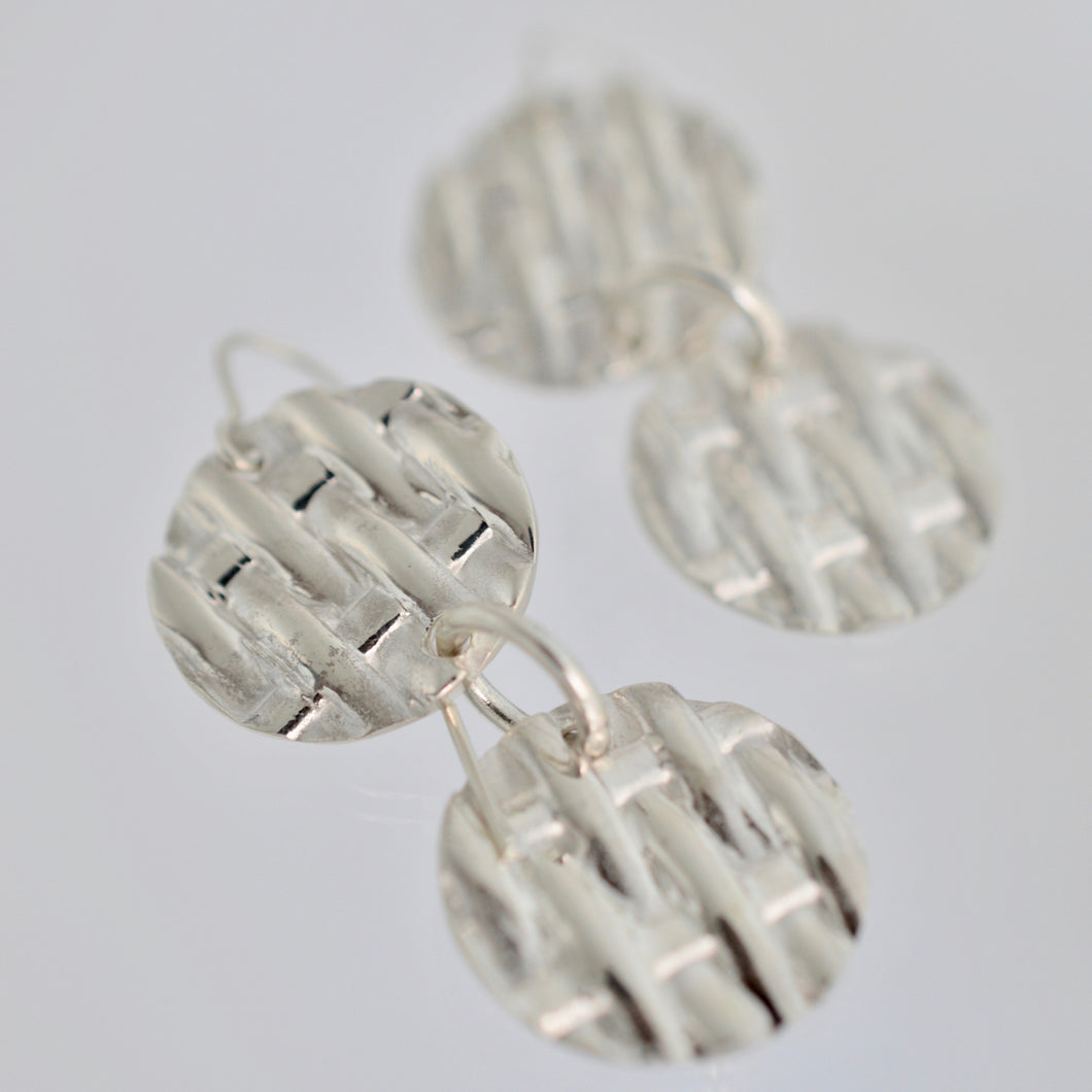 Pic Nic Double Drop Earrings