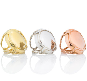 Custom Champers Rings - lauralobdell.com - 2