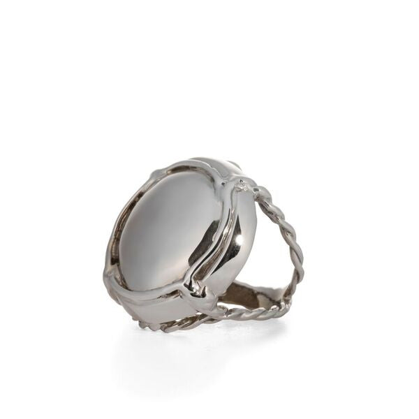 Subtle White Gold elegance in Champers Ring by Laura Lobdell