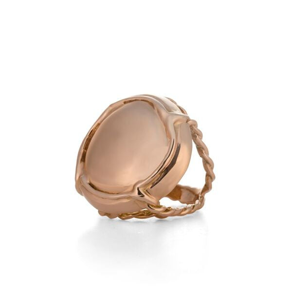 Rose Gold Champers Ring, a witty heirloom by Laura Lobdell