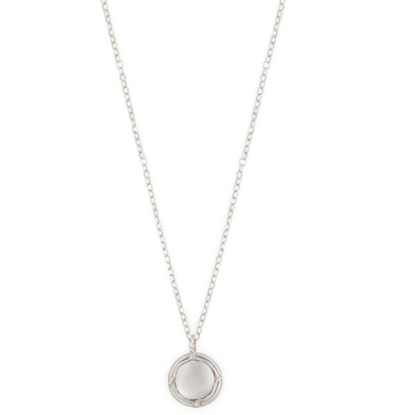 Champers Pendant Necklace in Silver by Laura Lobdell.