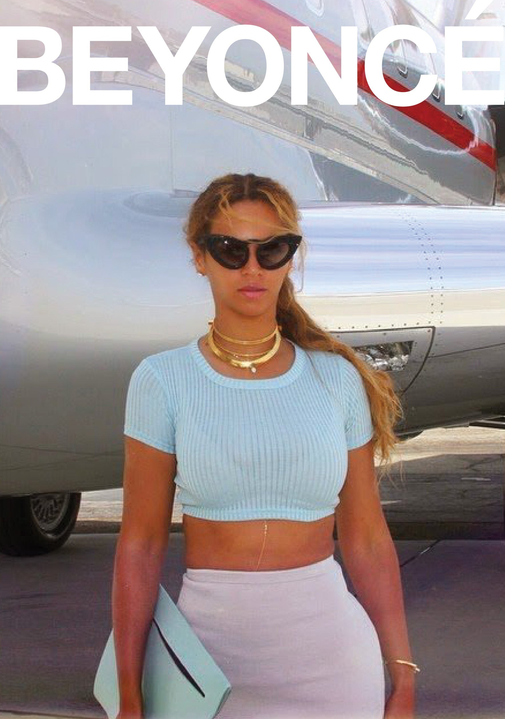 Third Crown Beyonce private jet Arc Choker jewelry runway genderless statement piece