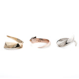 PRIZM WRAP RING - GOLD PLATED BRASS